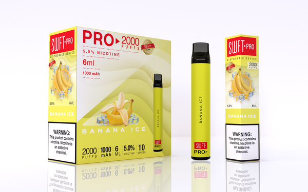 Swift Pro Disposable - Banana Ice 5%