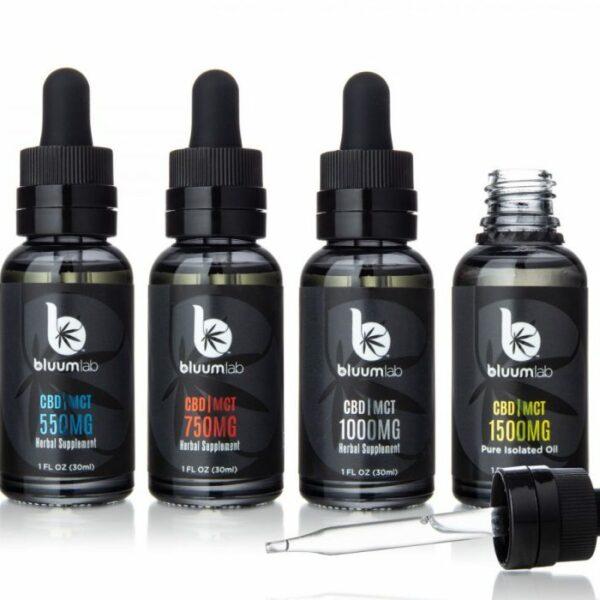 Bluum Lab CBDMCT Oil Tinctures