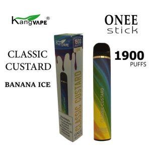 kangvape 1900 puff classic custard 5% nicotine disposable vape