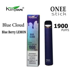 kangvape blue cloud 1900 puff 5% nicotine disposable