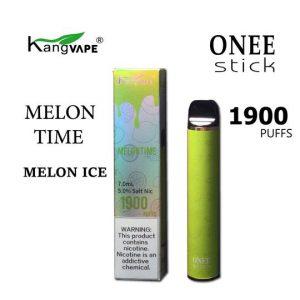 kangvape 1900 puff 5% nic vape disposable in melon ice