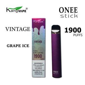 kangvape 1900 puff 5% nicotine disposable in Vintage (grape ice)