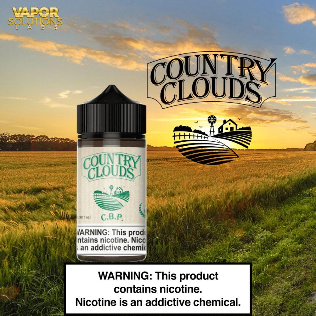 Country Clouds E-Liquid Line
